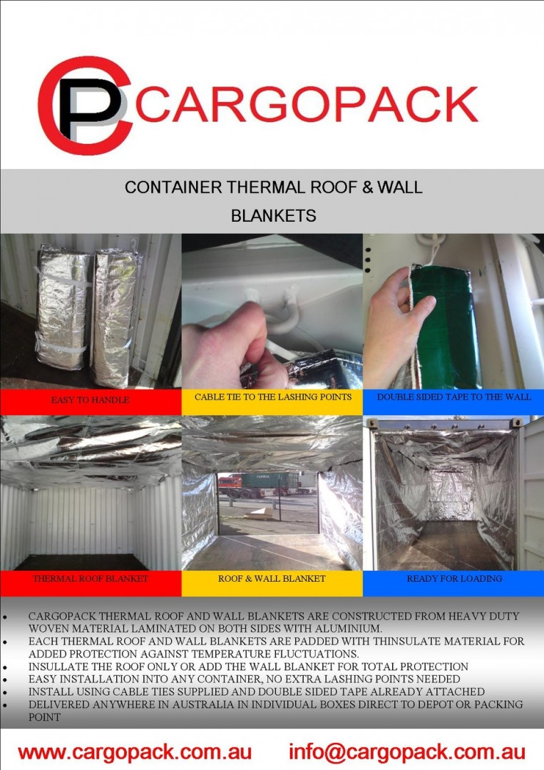 Thermal Protection Cargo Pack