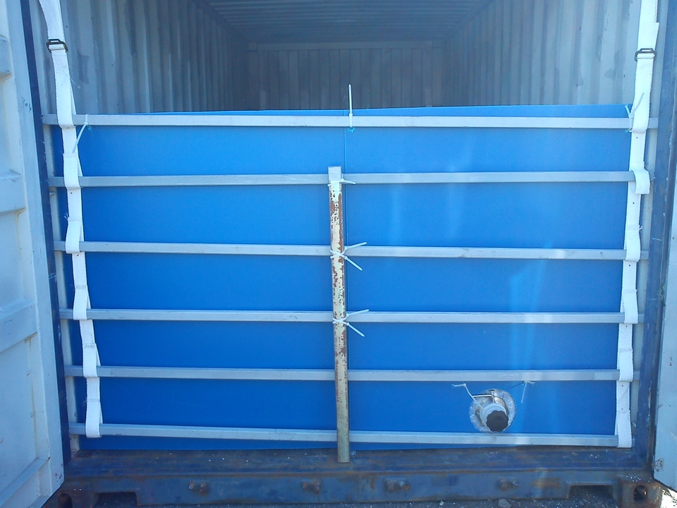 Plastic Fluted Board Bulk Head