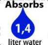 1400MIL WATER PER 2KG