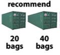2KG TYVEK BAG WITH PLASTIC HOOK